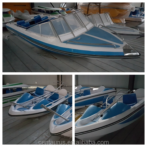 Best price double glass fibre reinforced plastic boat for fishing with fast delivery