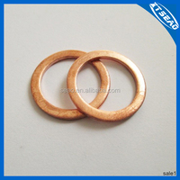 Customized Copper Engine Oil Drain Plug Gasket