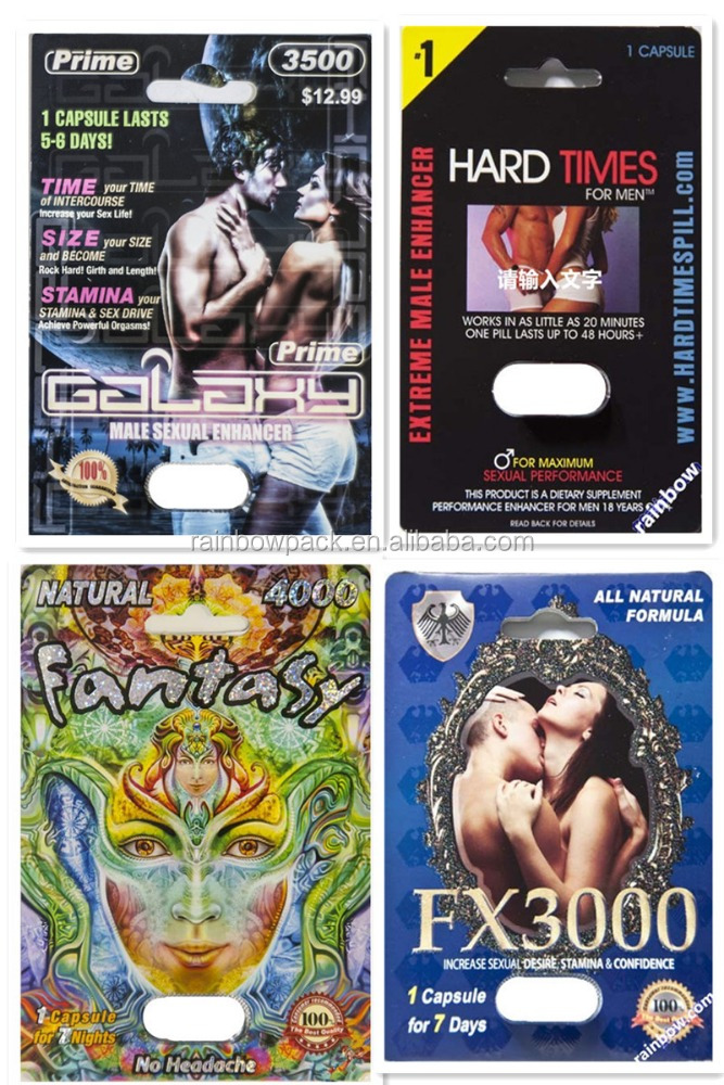 wholesale black mamba packaging blister card for enhanced penis pills/chinese male enhancement pills/sex pills capsule