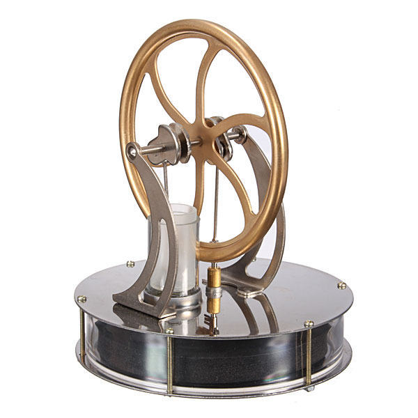 Funny Low Temperature Stirling Engine for Sale Motor Model Cool No Steam Education Education Kid Toys Kit