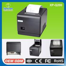 Low Cost 80mm Esc/pos Usb Pos Cashier Thermal Printer Receipt Printer Q200