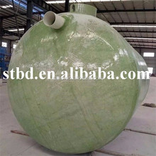 GRP FRP waste water treatment equipment / biochemical treatment /Biochemical Pool Tank