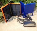 manufacturer wholesale 1w LED torch portable rechargable solar power bank charger