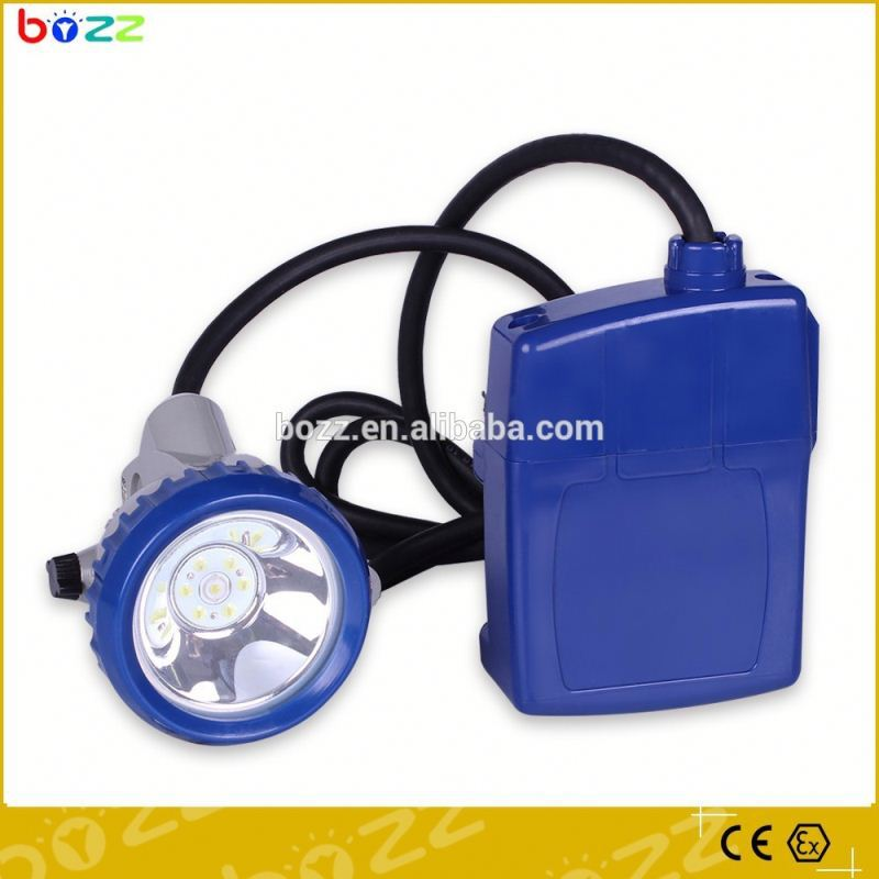 water proof rechargeable led cordless mining cap lamp high power miners cap lamp