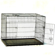 High quality stainless steel dog cage kennel crate