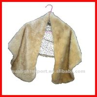long fur shawl, rabbit fur shawl, faux fur shawl