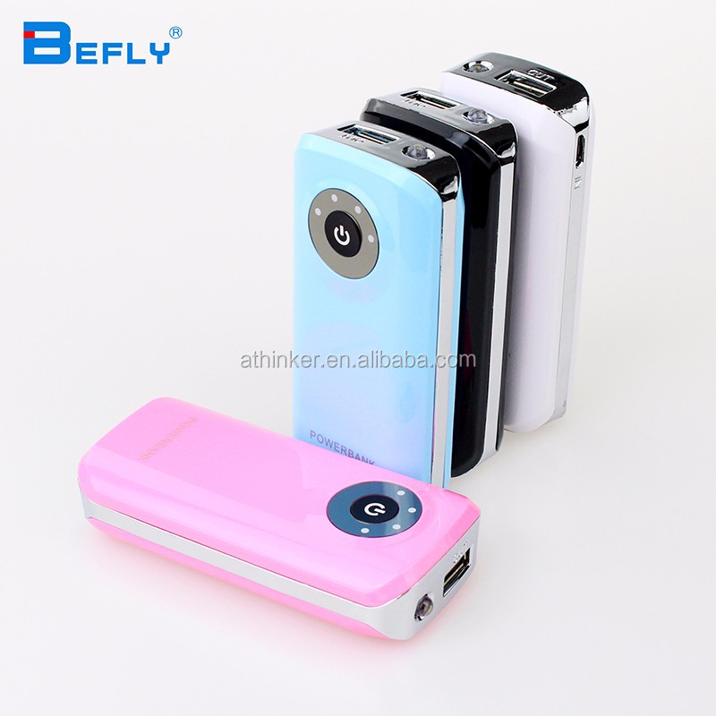 Fish mouth Power bank 5600mAh USB External Battery Backup Mobile Charger for all phone