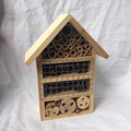 New design natural wooden insect house, bee house for hanging outside