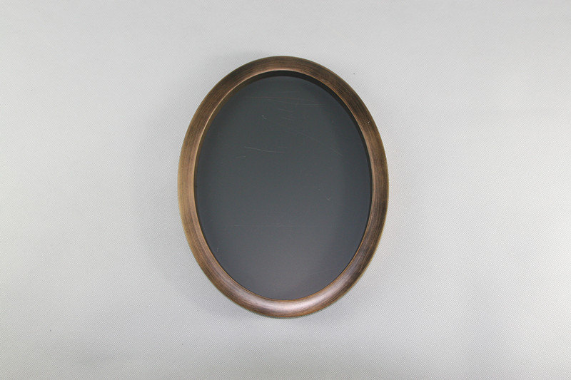 oval antique triple photo frames
