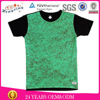 plain cotton t shirt/all over sublimation printing t shirt