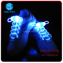 Colorful night decoration 6+ child fits battery replaceable flashing shoelace