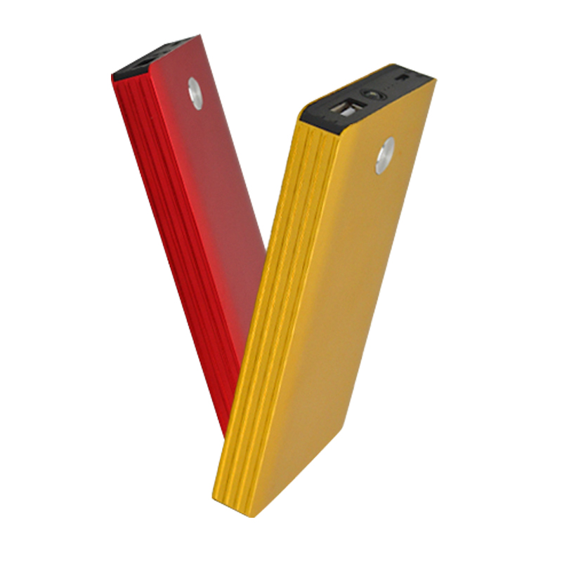 Self Brand Slim Yellow Power Pack Charger For Cell Phone