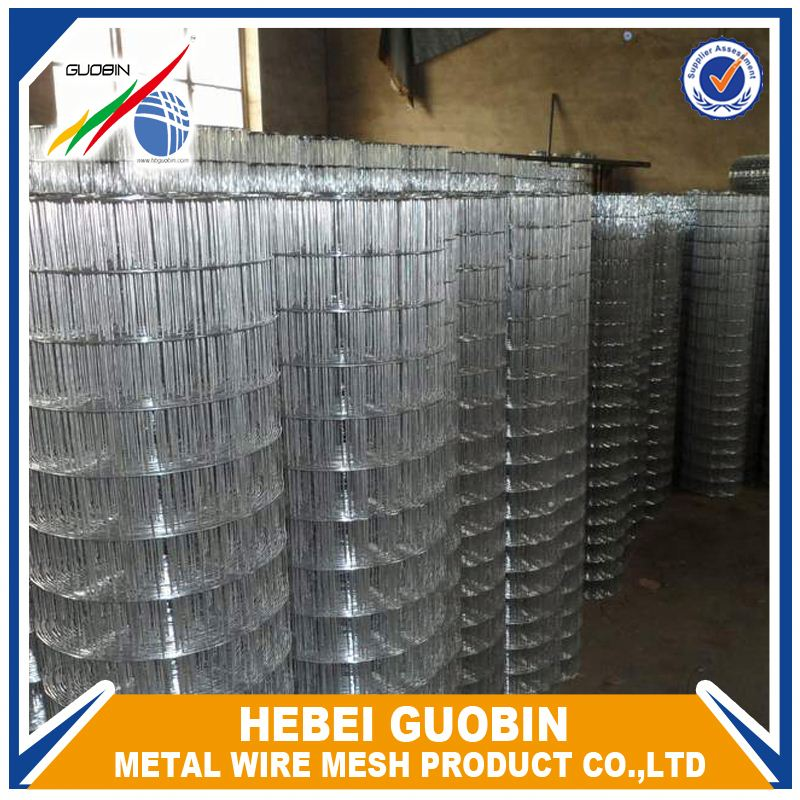 Heavy gauge galvanized welded wire mesh panel for fence use