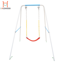 Outdoor Iron Stand Porch Design Children Hanging Swing Playground Equipment