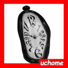 UCHOME Best Selling Melting Wall Clock Different Shape Roman Numeral Clock