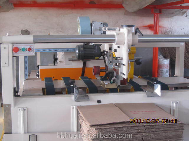 BZX2800 Semi-auto Gluer machine / carton gluer machine