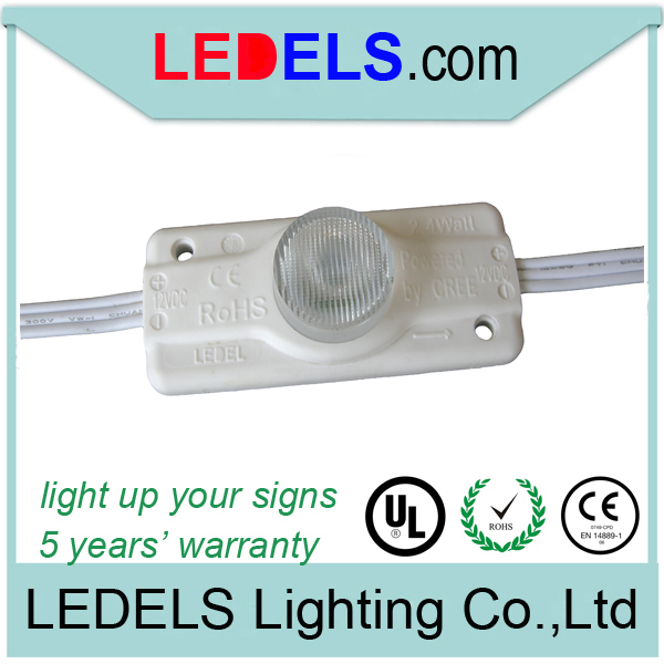 2.4W ul led module for lighting, 12vdc, energy saving, waterproof, 220lums, led lighting