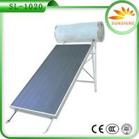 Integrated Pressurized Solar Water heater With Water Tank Heat Pipe Solar hot water Stainless Steel