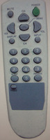 TV REMOTE CONTROL MODEL DAEWOO R-38T01, FOR MEXICO MARKET, ANHUI FACTORY, TIANCHANG MANUFACTURER