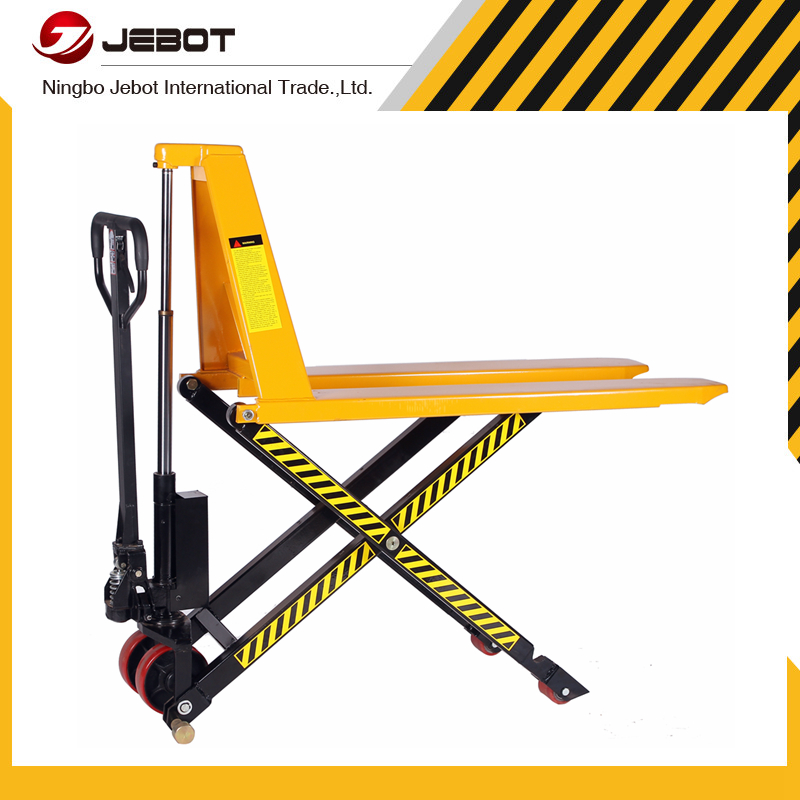 Adjustable straddle ajustable forks manual lift stacker U.S type
