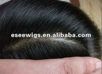 Factory hotsale Top Grade AAAA natural straight wig for men