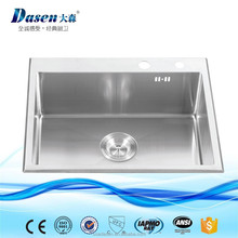 Custom made size undermount japan kitchen 17inch wholesale quartz stone sink