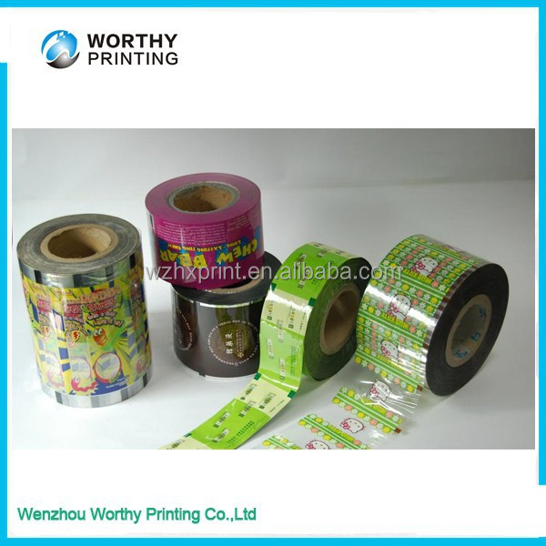 packaging Film for automatic packing machine, roll stock film, laminated film for food packaging