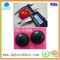 Dongguan manufacturer high bouncy silicone suction ball