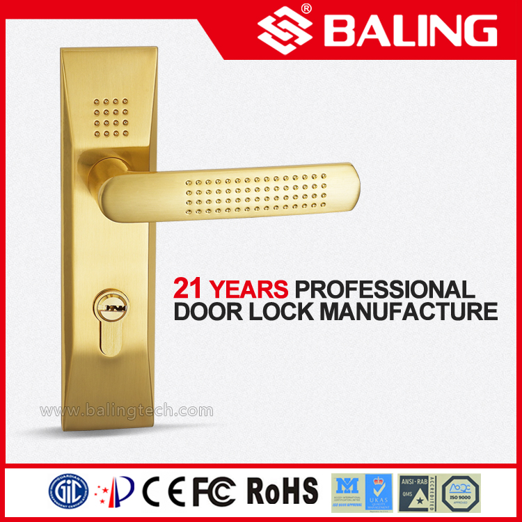 High-End Residential Door Lock Mortise Lever Door Lock Exprot to Asia/ Europe/ America Best Reliable Door Lock Manufacturer