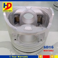 6D16 Piston ME072062 6D16 Engine Spare Parts