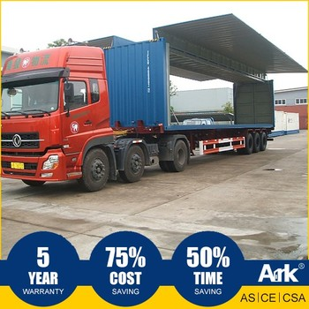 Ark Top Quality Good Price Long Lifespan Flatpack Prefabricated Steel commercial field Transportable Amenities