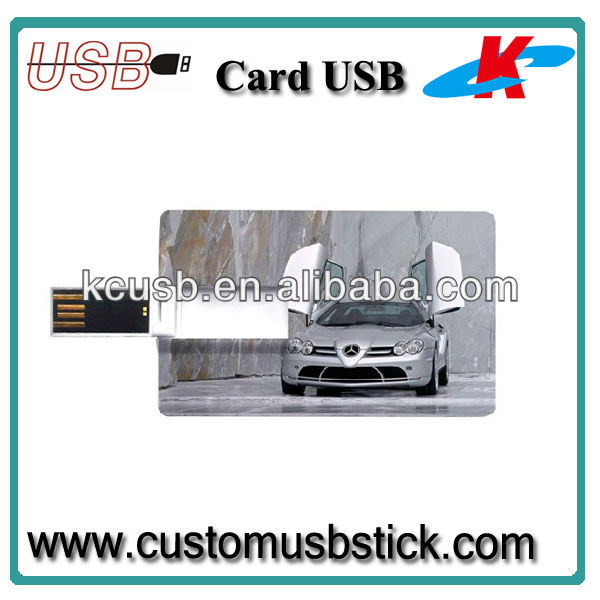 factory color card usb drive 2GB