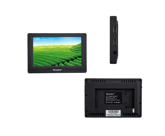 Model:BSY502-HD Bestview 5 inch hd field hdmi small lcd monitor ultra slim 16mm