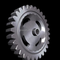 Custom Titanium Steel Gear Ring Stainless
