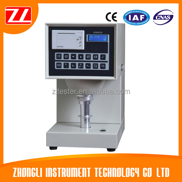 Digital Salt Flour Whiteness Brightness Test Equipment