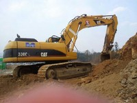 Used CAT 2004y Caterpillar Excavator 330CL made in Japan