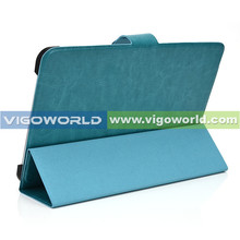 BULK STOCK ON SALE ! In good price Ultra-Thin folio stand leather tablet case for tablets