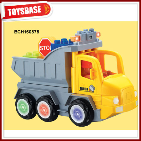 China juguetes por mayor truck toy manufacturers trailer truck toys for kids