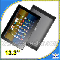 13.3''inch tablet pc with high quality low cost hdmi input HDMI 1.4 two camera