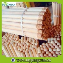 Hot-selling wood mop handle with different plastic covered
