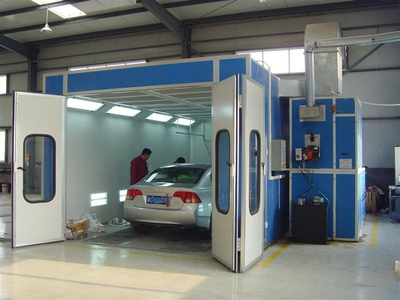 2016 new product car painting cabin/industrial paint booth/car paint room booth
