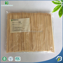 Wholesale Food grade and cheap natual bamboo skewers and DISPOSABLE sticks
