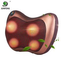The most novel Vibration Neck Massager Pillow With Heating Kneading Massage Balls