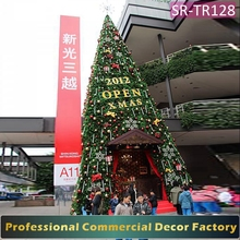 Outdoor 6meter artificial giant Christmas Tree Gate ornament decoration