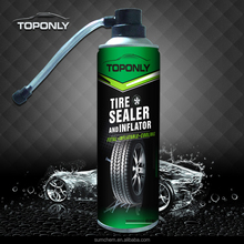 Convenient anti flat tire sealant and Inflator spray