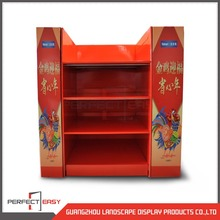 Customized design red color bulk lollipop candy food display boxes