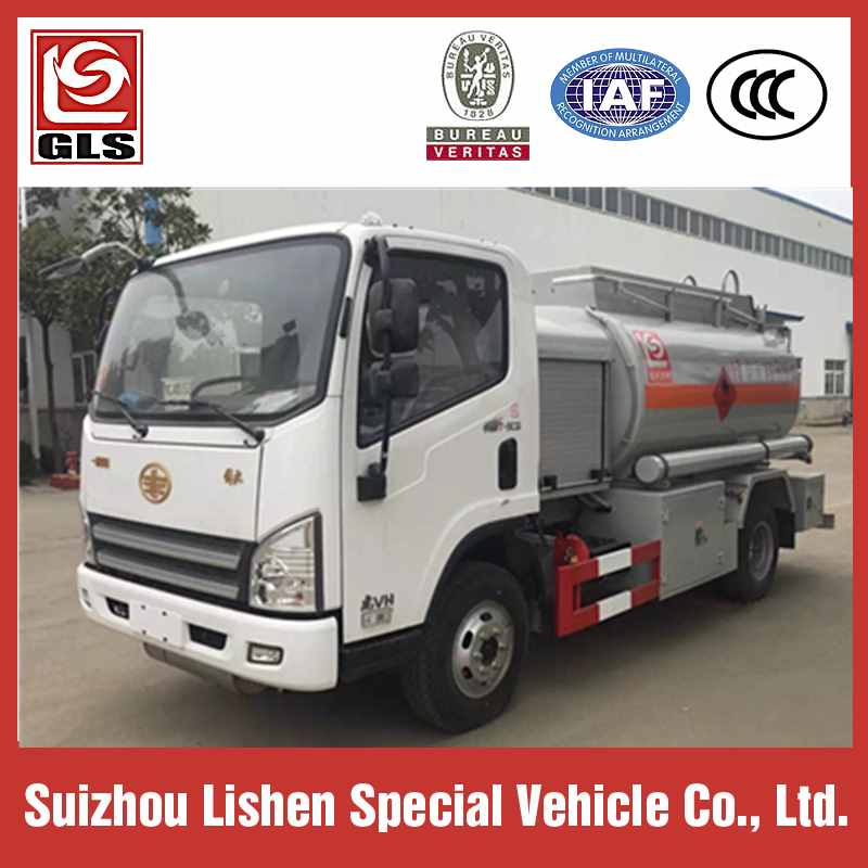 Hot Sale FAW 4X2 5160 Liters Fuel filling Truck