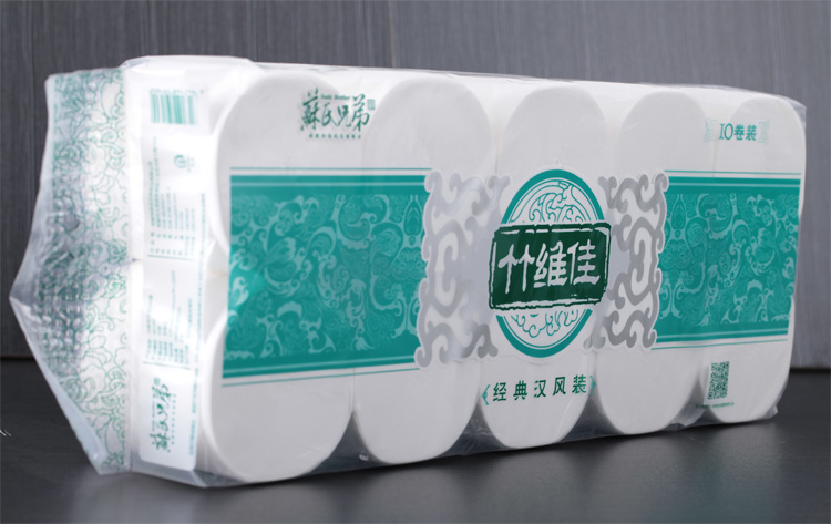 DDH brand eco-friendly 3Ply virgin pulp toilet paper