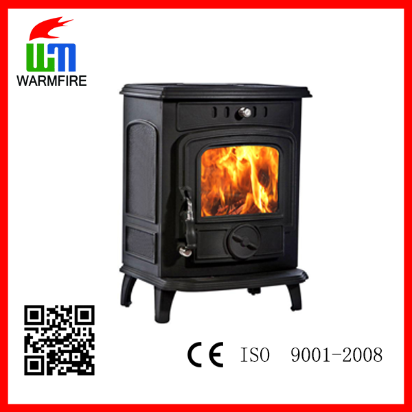 Model WM701A, Cast iron water jacket wood burning fireplaces, stoves