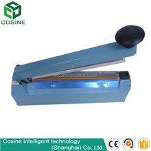 hand sealing machine manual sealer for small bags and films with plastic body